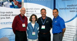 Creation Technologies at Medical Design & Manufacturing