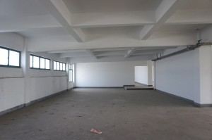 Empty Shell of Office Area