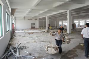 Manufacturing Area Before Changzhou