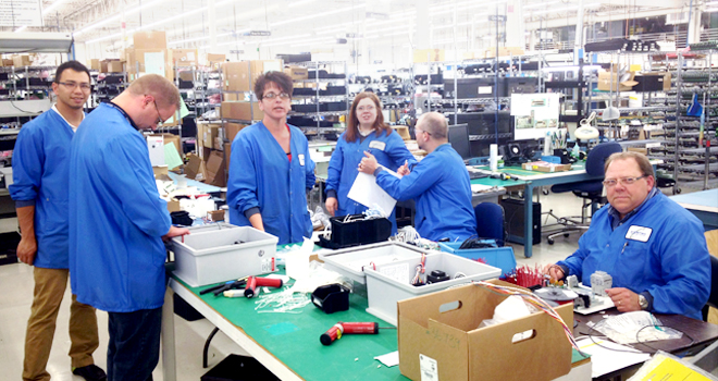 Entrepreneurship in Action: Engineering, Operations and Supply Chain on one of our Customer-Focused Teams in our Milwaukee Business Unit spent a few hours a day for several weeks lending their skills in Manufacturing so that one of our customers could meet an unexpected
