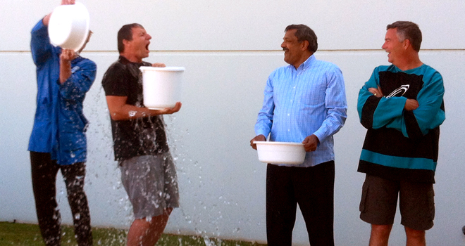 Creation's President and CEO in ALS Ice Bucket Challenge
