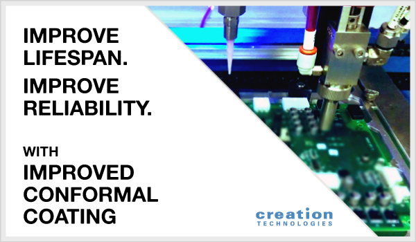 Upgraded Conformal Coating Capabilities in Creation–Milwaukee
