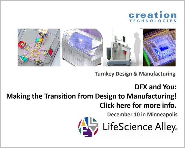 Dec 10 Workshop: Making the Transition from Design to Manufacturing
