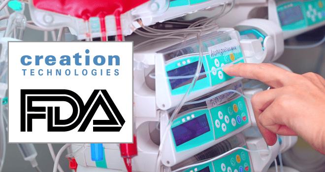 USA FDA Registration for Creation Technologies