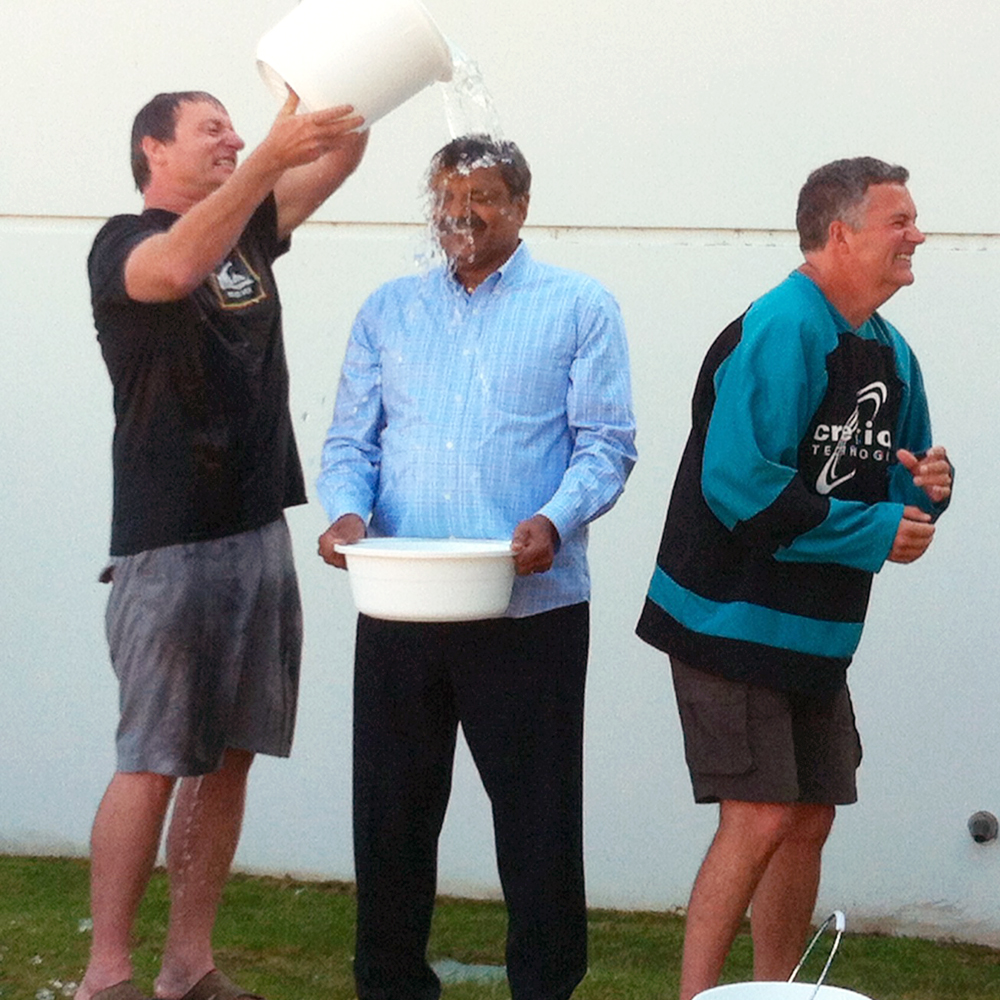 hq ceo team als ice bucket