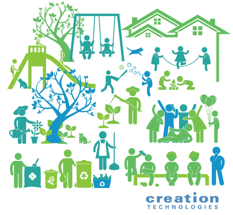Working Together to Make a Difference Creation Technologies