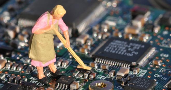 Flux residue cleaning: miniaturization presents unique challenges