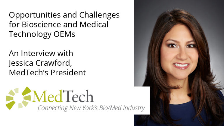 MedTech's Jessica Crawford Interview with Creation Technologies