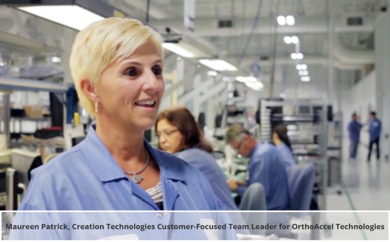 Creation Technologies Congratulates OrthoAccel