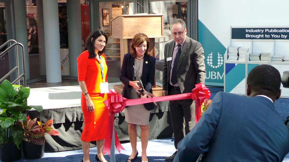 MedTech President Jessica Crawford and Lieutenant Governor Kathy Hochul kick off New York MedTech Week