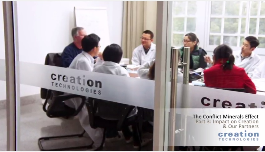 The Conflict Minerals Effect Video Series Part III: Impact on Creation & Our Partners
