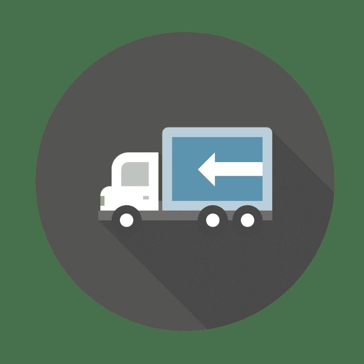 icon of semi truck