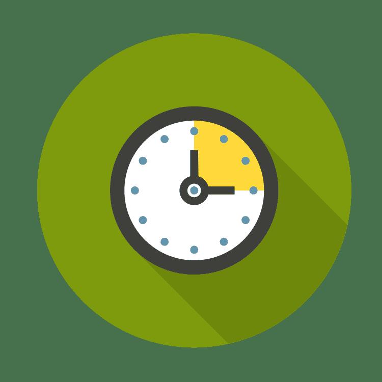 icon of clock