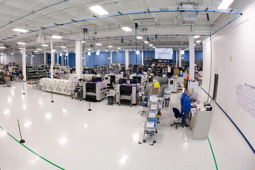 creation technologies st. peter manufacturing facility
